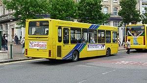 Wright Crusader - Image: Transdev Yellow Buses 152 VDZ 8003 rear 2