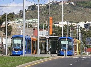tram service located in Tenerife, Canary Islands, Spain