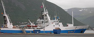 Illegal, unreported and unregulated fishing - Trawler arrested by the Norwegian Coast Guard for illegal fishing