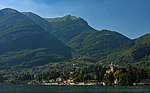 Tremezzo and mountains from Lake Como.jpg