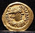 Tremisse barbarizzato a nome di eraclio, italia centro-meridionale, 610-640, 01.jpg