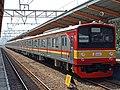 Trial run former JR East 205 series Musashino line number 205-44F.jpg