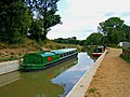 Trip boats on Wey and Arun Canal by Onslow Arms - geograph.org.uk - 1436098.jpg
