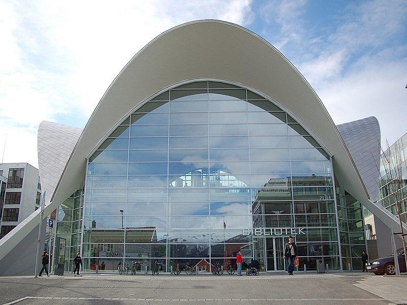Fil:Tromso bibliotek og byarkiv 2007.jpg