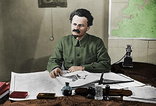 Leon Trotsky. Public Domain.