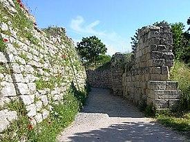 トロイの考古遺跡