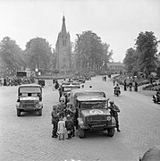 Trucks and other vehicles in Valkenswaard.jpg