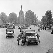 Trucks and other vehicles in Valkenswaard