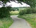 Tugby Road near Robin-a-Tiptoe Hill - geograph.org.uk - 885447.jpg