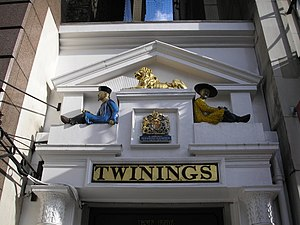 Twinings Museum - Twinings Shop on The Strand, London.