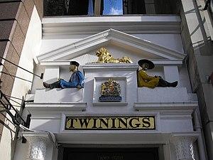 Tearoom (UK and US) - Twinings tea shop, established 1706