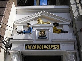 Twinings Museum - Twinings Shop on The Strand, London.