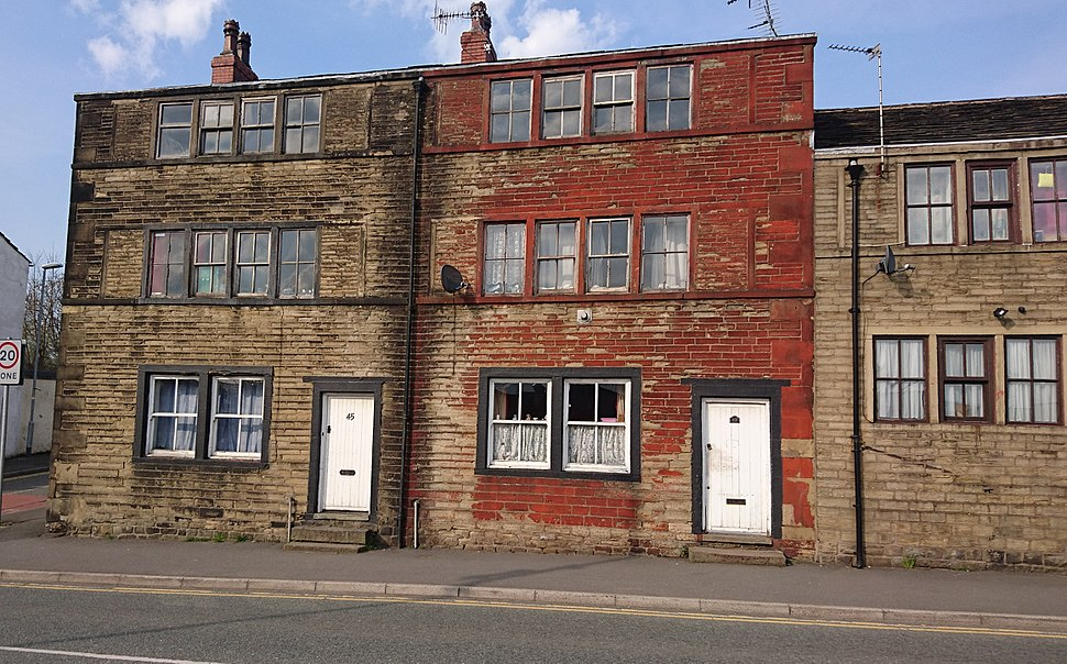 Two former weavers' cottages in Milnrow