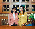 Two receptionists at a hotel in Jakarta Java.jpg