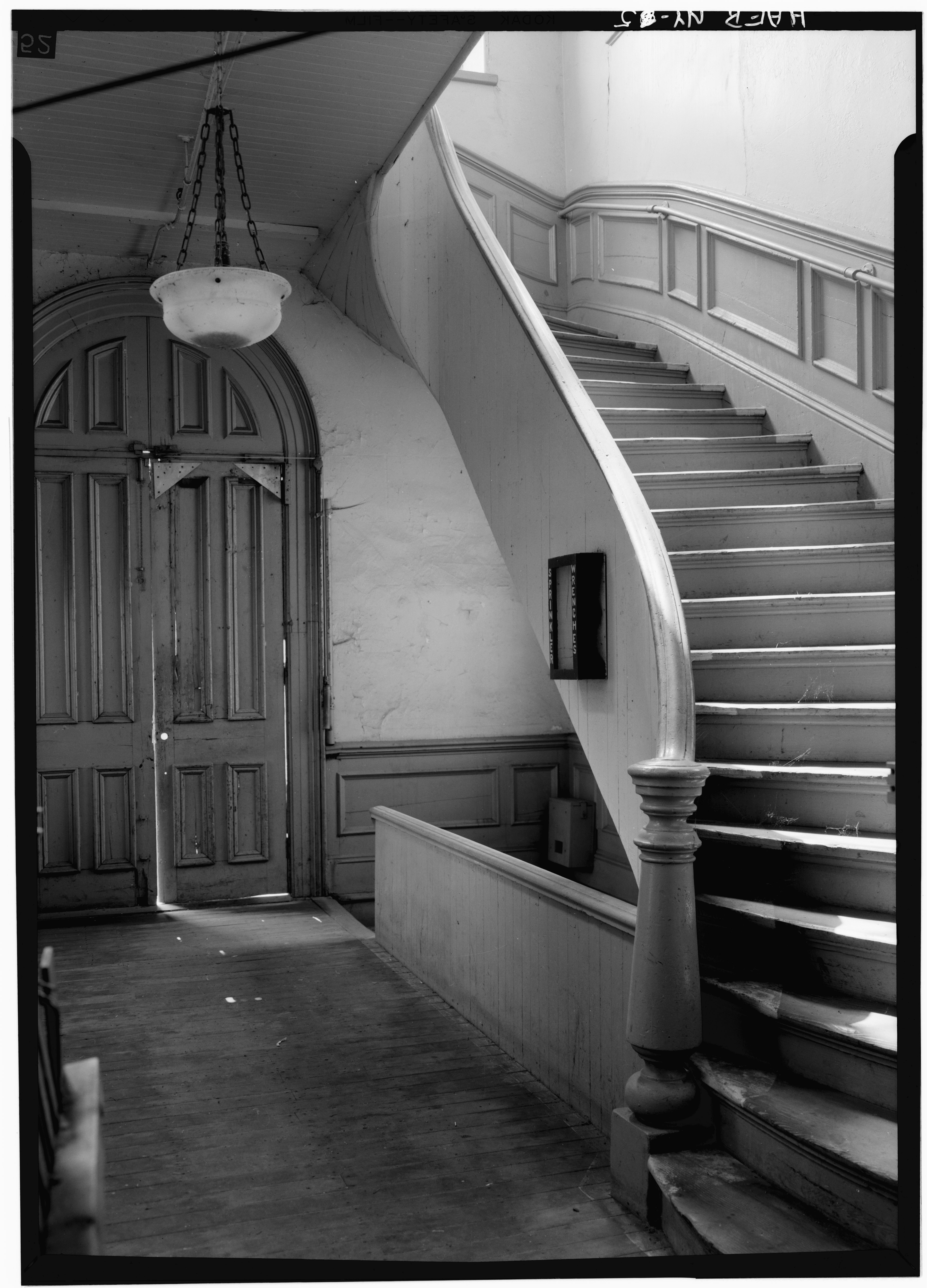 File typical stairway and stair tower entrance door for Stair tower