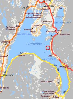 Stoltenberg hedrar amundsen pa plats