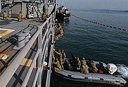 U.S.-Georgia naval practices. Batumi, 2011