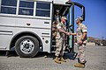 U.S. Marines and Sailors with the 1st Battalion, 5th Marine Regiment, assigned to Marine Rotational Force-Darwin, arrive for a homecoming event at Marine Corps Base Camp Pendleton, Calif., Oct. 20, 2014 141020-M-SE196-003.jpg