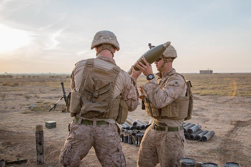 U.S. Marines with 3rd Battalion, 4th Marines