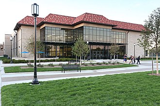 University of Detroit Mercy - Image: UDM Student Fitness Center front exterior 2012