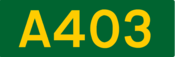 A403 road shield
