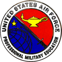 U.S. Air Force Professional Military Education Badge