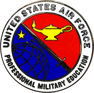 Professional military education in the United States Air Force - Image: USAF Professional Military Education Badge