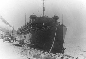 SS Dorchester - Image: USAT Dorchester