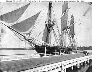 USS Dale (1839) - USS Dale at Naval Academy, Annapolis, MD
