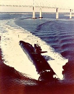 USS <i>Lewis and Clark</i> (SSBN-644) Benjamin Franklin-class submarine
