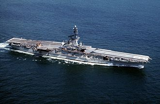 USS Lexington (CV-16) - Image: USS Lexington (CVS 16) underway in the 1960s