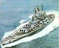 USS Washington (BB-56) in Puget Sound, 10 September 1945 (color).jpg