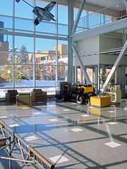 http://commons.wikimedia.org/wiki/File:USU_Engineering_Building_Lobby.jpg
