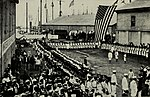 US Marines from the USS Philadelphia and Mohican landing to take part in the Annexation Day ceremonies.jpg