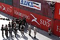 US Navy 070601-N-8629D-002 U.S., Chilean, British and French Sailors as part of Task Group 40.0, train together on Visit, Boarding, Search and Seizure (VBSS) procedures while in port Mejillones, Chile.jpg