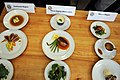 US Navy 100624-N-9818V-116 Sailors present their meals to be judged at the Commander Navy Installations Command's 2nd annual Culinary Competition at CulinAerie.jpg