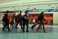 US Navy 110321-N-YR391-004 U.S. military family members arrive at Jacksonville International Airport after voluntarily evacuating Japan.jpg