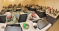 US Navy 120207-N-AW868-057 Seabees at Naval Construction Battalion Center Gulfport, Miss. complete a Navy computer adaptive personality scales ques.jpg
