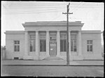 US Post Office being built in Kinston, NC. Date of this photo is 3 December 1915. From Coble's Art Studio Photograph Collection, PhC.190, State Archives of North Carolina. (9617351834).jpg
