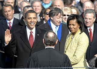 First inauguration of Barack Obama 56th United States presidential inauguration