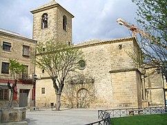 Portada principal de la iglesia de San Pedro, Úbeda