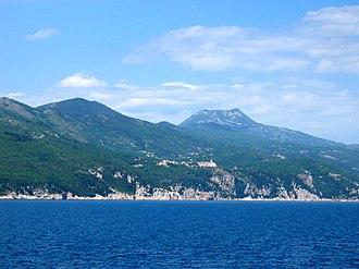Učka - View from Kvarner Gulf