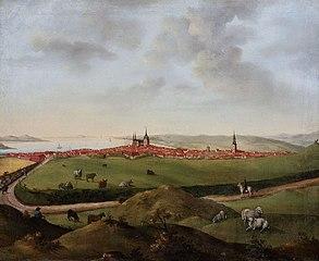 Aarhus, set fra Nordvest