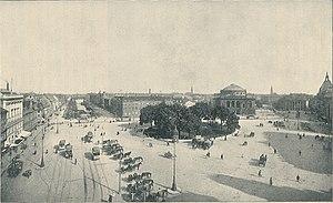 Kongens Nytorv - View of Kongens Nytorv, anno 1930