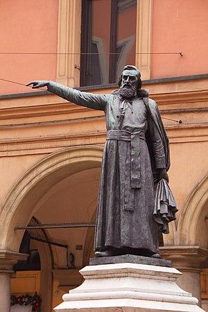 Ugo Bassi - Statue of Ugo Bassi in Bologna