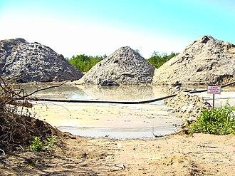 Rovno amber - Amber mine in Klesov