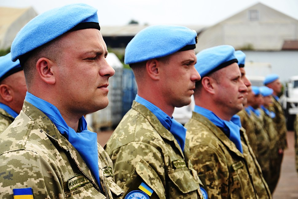 Ukrainian aviation unit. DR Congo. MONUSCO Ukrainian aviation unit. DR Congo. MONUSCO (38059446611)