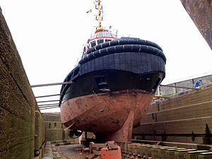 Union Grizzly in dry-dock of Antwerp pic6.JPG