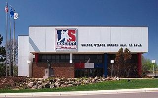 United States Hockey Hall of Fame Ice hockey museum in Eveleth, Minnesota