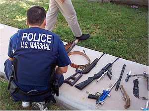 English: U.S. Marshal Multi-Agency Team Member...